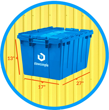 Stow Simple Bin Measurements
